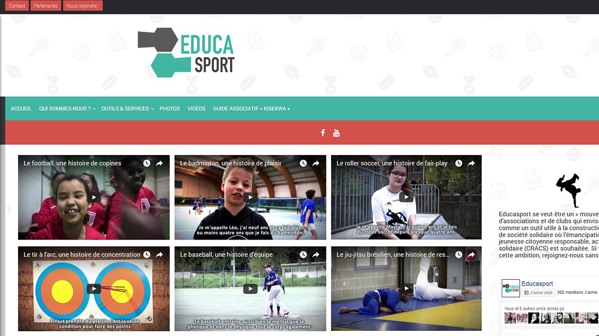 site web educasport